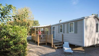 Photo for Camping Le Soleil Bleu by Nai'a **** - Mobile Home Tangaroa 4 Rooms 6 People Air-conditioned