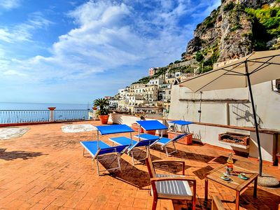 Photo for Casa Lena: A splendid two-story independent house located in the little village of Atrani , with Free WI-FI.
