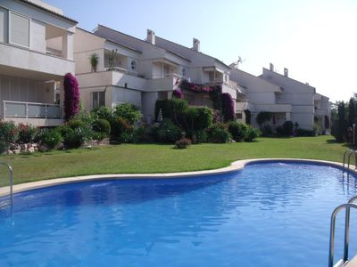 Photo for 4 bedroom Villa, sleeps 7 in Javea with Pool and WiFi