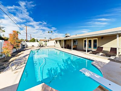 Photo for Expansive Private Backyard w/ Pool - Minutes to Old Town, Zoo & Papago Park