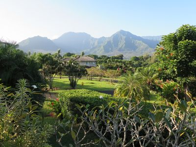 Breathtaking mainview from Lanai, wraps entire home, tranquil, BBQ, dining area.