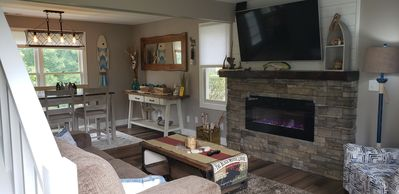 Photo for Newly Renovated. Gorgeous Retreat w/seasonal waterfall view! Pets under 25 LBS
