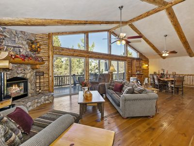 Photo for Castle Glen Gem: Luxury! Game Room featuring a Pool Table! Amazing Mountain Views! WiFi!