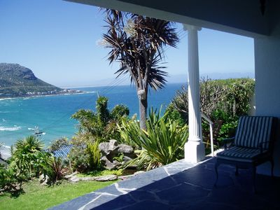 Photo for Lovely large family House near beach, spectacular sea and mountain views.