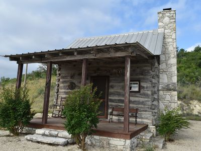 Photo for Maner Log Cabin romantic log cabin away from it all
