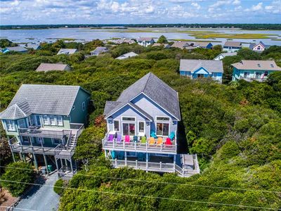 Photo for Phat Asset: 8 BR / 5 BA house in Surf City, Sleeps 20 - ocean view, hot tub!