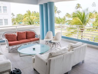 Photo for One Bedroom with Amazing Balcony on Ocean Drive