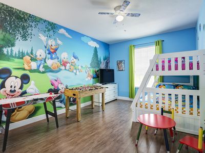 Photo for Mickey Mouse Farmhouse-Fully Upgraded Condo in Windsor Hills. 2 Miles to Disney!