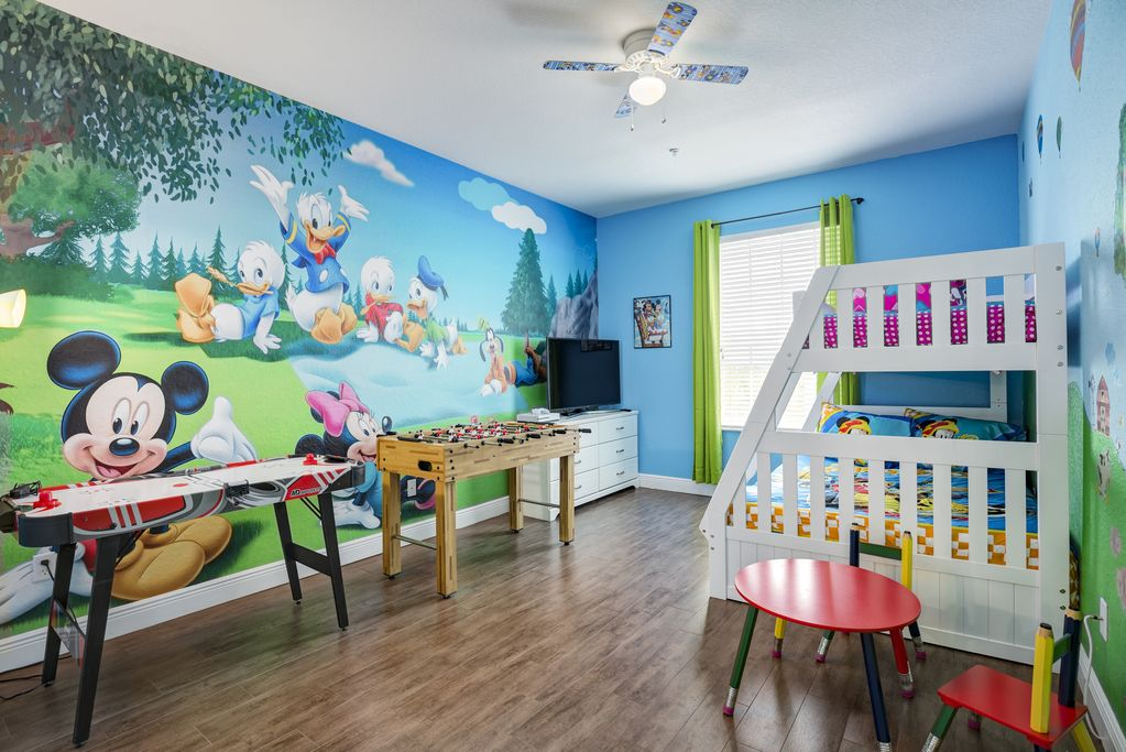 Mickey Mouse Farmhouse Fully Upgraded Condo In Windsor Hills 2 Miles To Disney Kissimmee