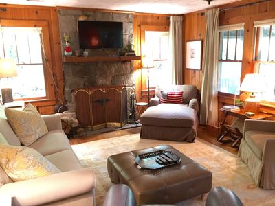 Photo for Minutes To Town, Wooded 2 Acre Retreat, Newly Remodeled