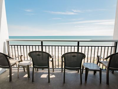 Last minute rate, Direct Oceanfront, 2BR/2BA, central location on boardwalk,WIFI