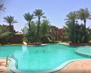 Photo for Grande Villa (260 m2) of 3 bedrooms in exclusive residence in the Palmeraie