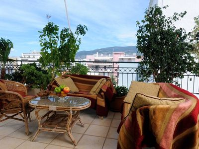 Photo for Apartment 504 m from the center of Kalamata with Internet, Air conditioning (989735)