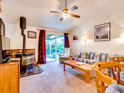 Photo for Charming dog-friendly home with large, fenced yard - 2 blocks to the beach