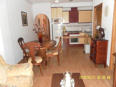 Photo for Modern ground floor apartment in great location in Playa Flamenca