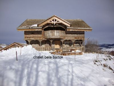 Photo for bela Bartok cottage for 10 to 15 people