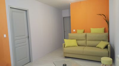 Photo for Very nice new apartment on the ground floor with terrace, tastefully decorated.