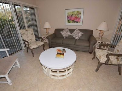 Photo for 18 Hickory Cove | Golf Course View | Free Daily Tennis | 7 Minute Walk to Beach | Complex Pool