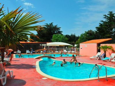 Photo for Family holidays at island of Oleron, rent a comfortable mobile home, 3 bedrooms
