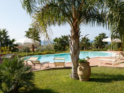 Photo for Flat in Villa with wonderfull POOL-SEA-RELAX-PERFECT HOLIDAY