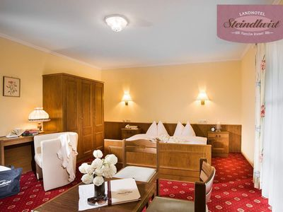 Photo for Triple room with shower or bath Bathroom, WC - Steindlwirt, Country Hotel