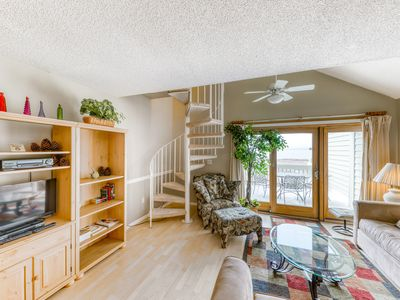 Photo for Villa with loft with full kitchen & parking passes, just steps from the beach!