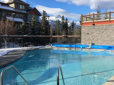 Photo for Beautiful 1 Bedroom Condo with Heated Outdoor Pool (Great mid week rates)