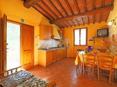 Photo for Apartment Il Mirto in Montaione - 3 persons, 1 bedrooms