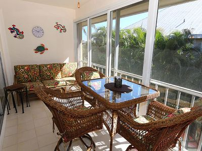 Photo for 2nd Floor Walk-Up, One Bedroom Condo on Middle Gulf Drive - Spanish Cay F7