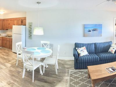 Photo for Beach Haven, NEW & Renovated, 2018! , less than 1 block to beach! Full kitchen.