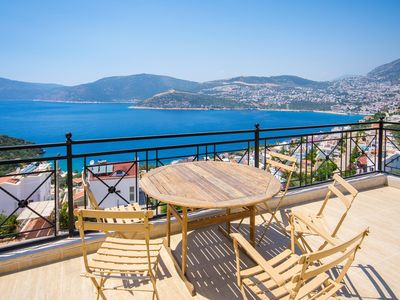 Photo for 4 Bedroom Villa with Secluded Pool and Panoramic Views of Kalkan and Kalkan Bay