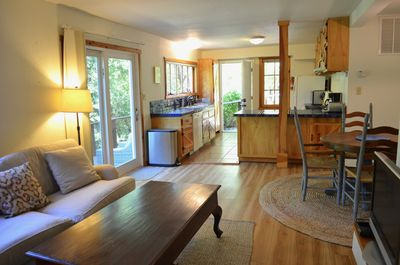 Spacious, clean and comfortable unit with total privacy.