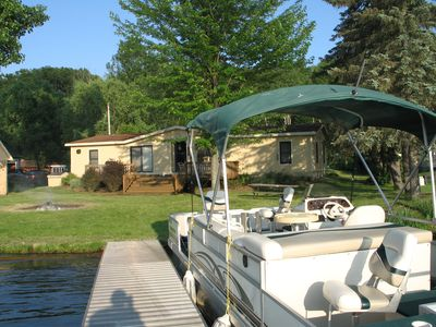 Photo for 3 bedroom lakefront vacation home