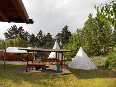Photo for Teepee cabins camp Almensee lake