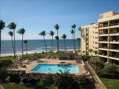 Photo for Ocean View Condo in Beachfront Resort with Pool, Hot Tub & Lanai