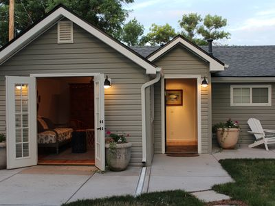 Photo for Beautifully remodeled cottage steps from Olde Town action
