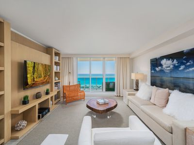 Photo for Full Ocean View 1bd/1ba in Luxury Eco-Hotel Private Residence South Beach