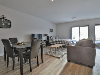 Photo for Les sommets Charlevoix - Condo-Chalet no 41 Lower Level 1 to 4 people