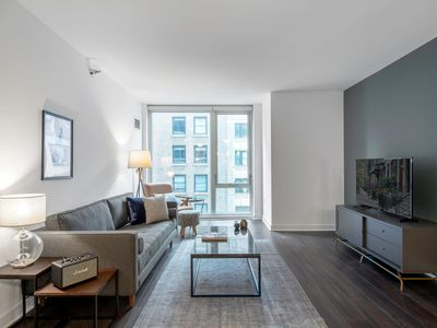 Photo for Trendy Loop 1BR w/ Gym, Pool, W/D, in the Theatre District, by Blueground