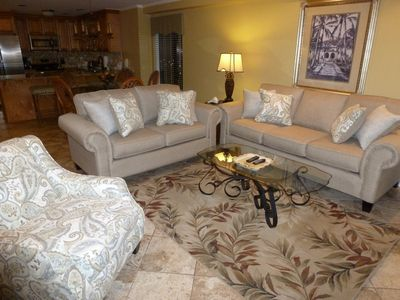 Photo for VERY CLEAN 3BR/3BA OCEANFRONT ** SEPT 14-21 AVAILABLE/VERY CLEAN UPDATED CONDO.