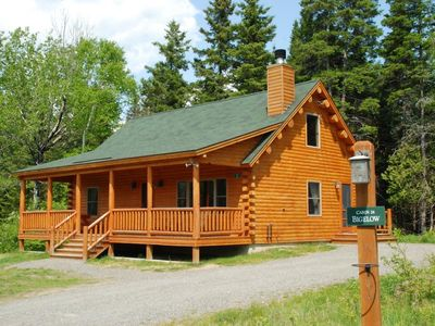 Photo for 3 bedroom cabin located in Rangley Lake Resort