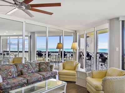 Photo for Sandpiper #309: Beachfront 3 Bedroom 2.5 Bathroom With Spectacular Views and 24 Hour Management
