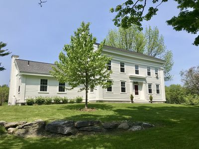 Photo for W. Stockbridge Farmhouse with Sweeping Views + Modern updates, family Friendly!