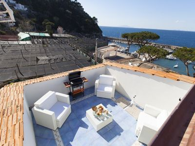 Photo for Tetto Bianco 2 bedrooms apartment close to the water