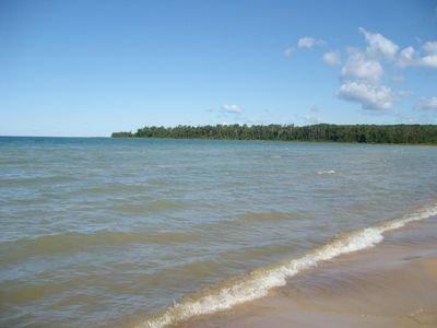 Historic Cottage on the Best Beach in the Mackinaw Area