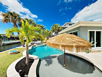 Photo for Incredible Canal Home w/ Private Pool & Spa - Near Beach!