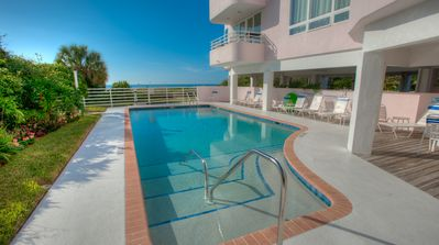 Photo for Gulf Front Condo with a Week Available in May! Island Paradise 3: 3 BR / 2 BA
