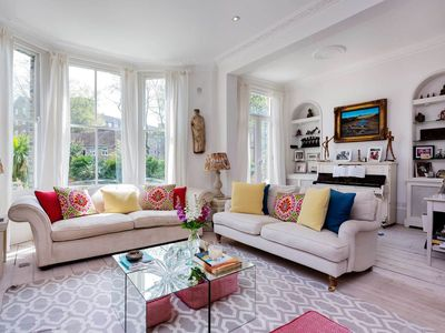 Photo for Spectacular & unique 5BR home in leafy Clapham, perfect for families, by Veeve