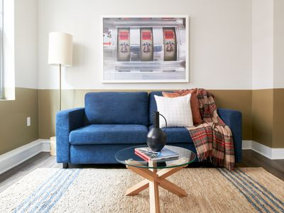 Photo for Sonder | Financial District | Sunny 1BR + Sofa Bed