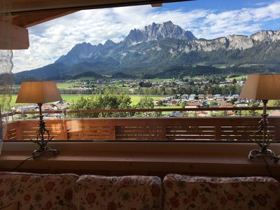 Photo for Luxurious penthouse apartment with great views of the Wilder Kaiser.